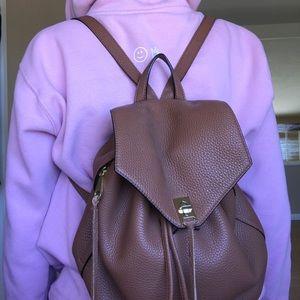 Rebecca Minkoff Brown Backpack